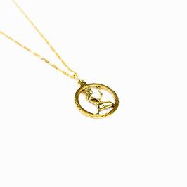 VIRGO // JUNGFRAU – Sternzeichenkette 333 Gold