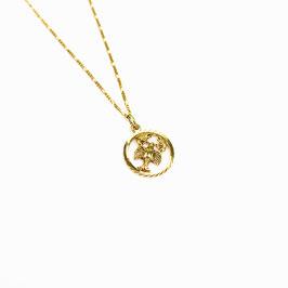 CANCER // KREBS – Sternzeichenkette 333 Gold