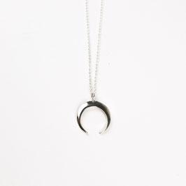 LUNA I  – Silberkette mit Halbmond