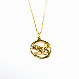 LEO // LÖWE – Sternzeichenkette 333 Gold
