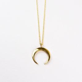 LUNA I  – Kette mit Halbmond Gold