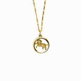 ARIES // WIDDER – Sternzeichenkette 333 Gold