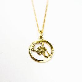 SCORPIO // SKORPION – Sternzeichenkette 333 Gold