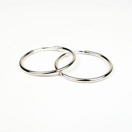 MAGDA – Creolen 25 mm Silber