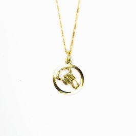 SCORPIO // SKORPION – Sternzeichenkette vergoldet