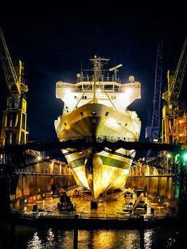 Ship in Dockyard