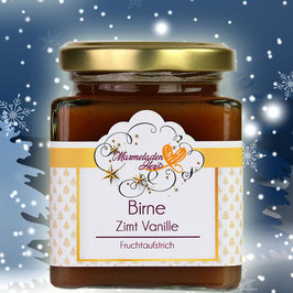 Fruchtaufstrich Birne,Vanille , Zimt