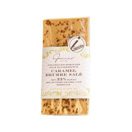 Vollmilch Schokolade mit Butterkaramell & Salz