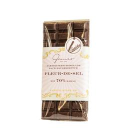 Zartbitter Schokolade mit Fleur de Sel