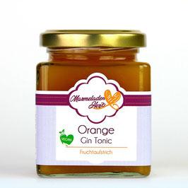 Fruchtaufstrich Orange - Gin -  Tonic