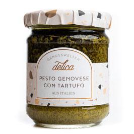 Pesto Genovese con Tartufo - Basilikumsauce mit Trüffeln