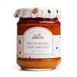 Pesto Rosso con Tartufo- Tomatensauce mit Trüffeln