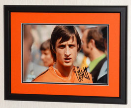 Cruyff, Johan hand signed photo - Deluxe Framed + COA