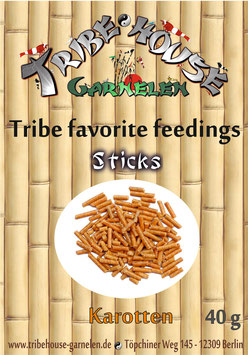 Tribe favorite feedings - Karotte Sticks 40g