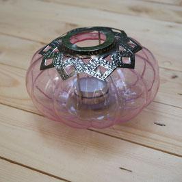 Teelichtglas rosa