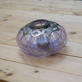 Teelichtglas flieder