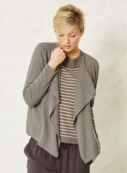 BRAINTREE Organic Cotton Cardigan Grey