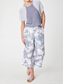 Oceanids Printed Wide Leg Culottes