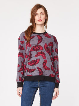 Print Bamboo Sweatshirt S