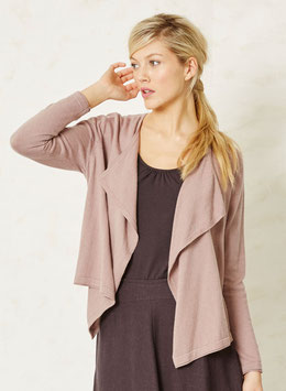 BRAINTREE  Organic Cotton Cardigan Antique Pink