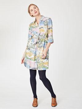 Meadow Printed Tencel Shirt Dress