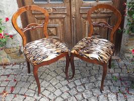 Paar Biedermeier Stühle von ca. 1850 Jhr.