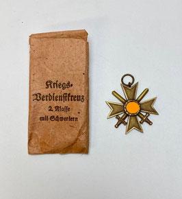 Kriegsverdienstkreuz in Originalverpackung