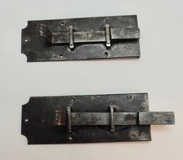Eisen Schubriegel um 1880 Uhr.