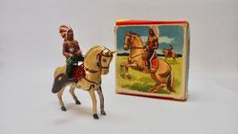 Köhler Pferd mit Indianer Nr.6