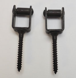 Rollkloben für Bascule Fenstergetriebe,  Paar