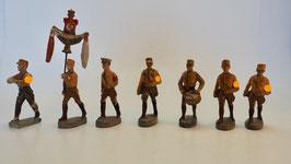 SA Soldaten mit Standartenträger 7 Figuren