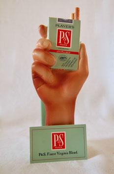 Player`s, P&S, Zigarettenwerbung, Aufsteller, Reklame