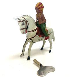 Köhler Pferd mit Indianer Nr.17