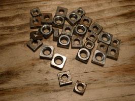 Vierkantmuttern Set, Eisen blank