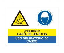 CAÍDA OBJETOS / CASCO