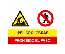 OBRAS PROHIBIDO EL PASO