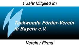 1 Jahresmitgliedschaft / Verein/Firma