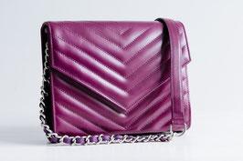 Handtasche - brombeere