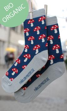 Glückspilz Socken Damen BIO