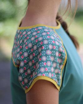 Raglan Shirt Damen Blumen oder Federball