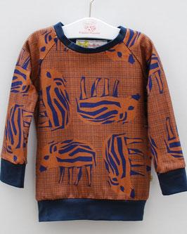 Sweater mit Wutz oder Millefleurs allover