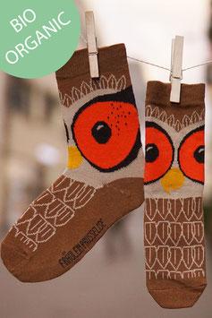 Eule Socken Damen BIO