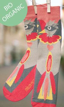 Paradiesvögel Socken Damen BIO