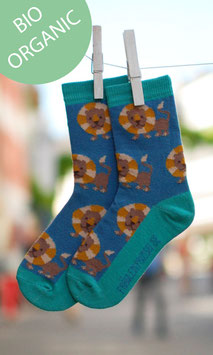 Kindersocken Löwe Bio