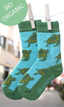 Schildkröte Kindersocke BIO