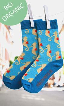Seepferdchen Socken Damen BIO