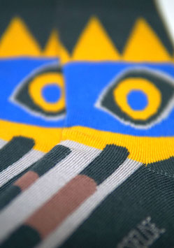 Herrensocke Inka blue- 43-46 BIO