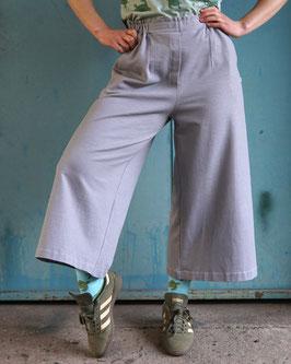 Culotte Jeansjersey blau oder grau