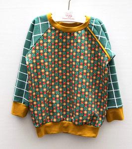 Sweater mit Blume/Karo oder Millefleurs allover