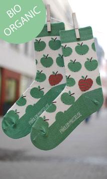 Äpfelchen Socken Damen BIO